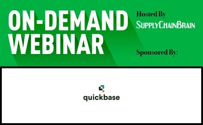 Quickbase on demand webinar